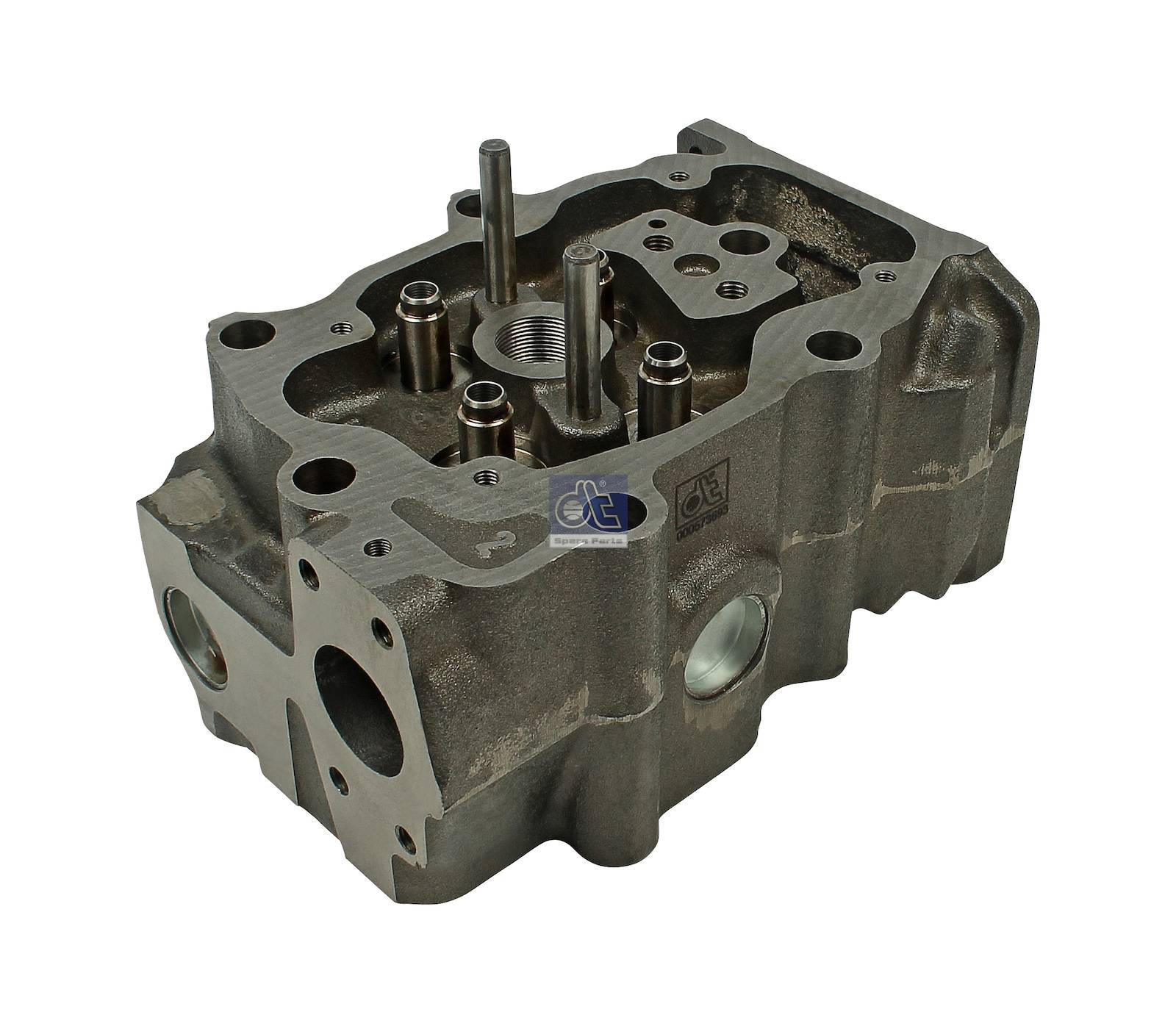 Cylinder head, without valves