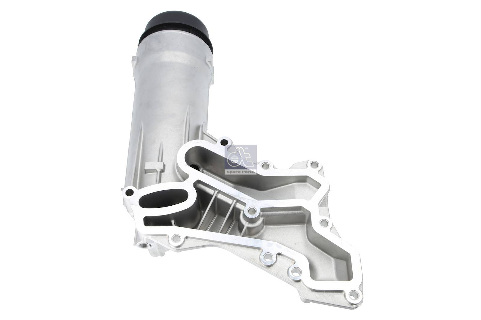 Oil filter housing, without filter