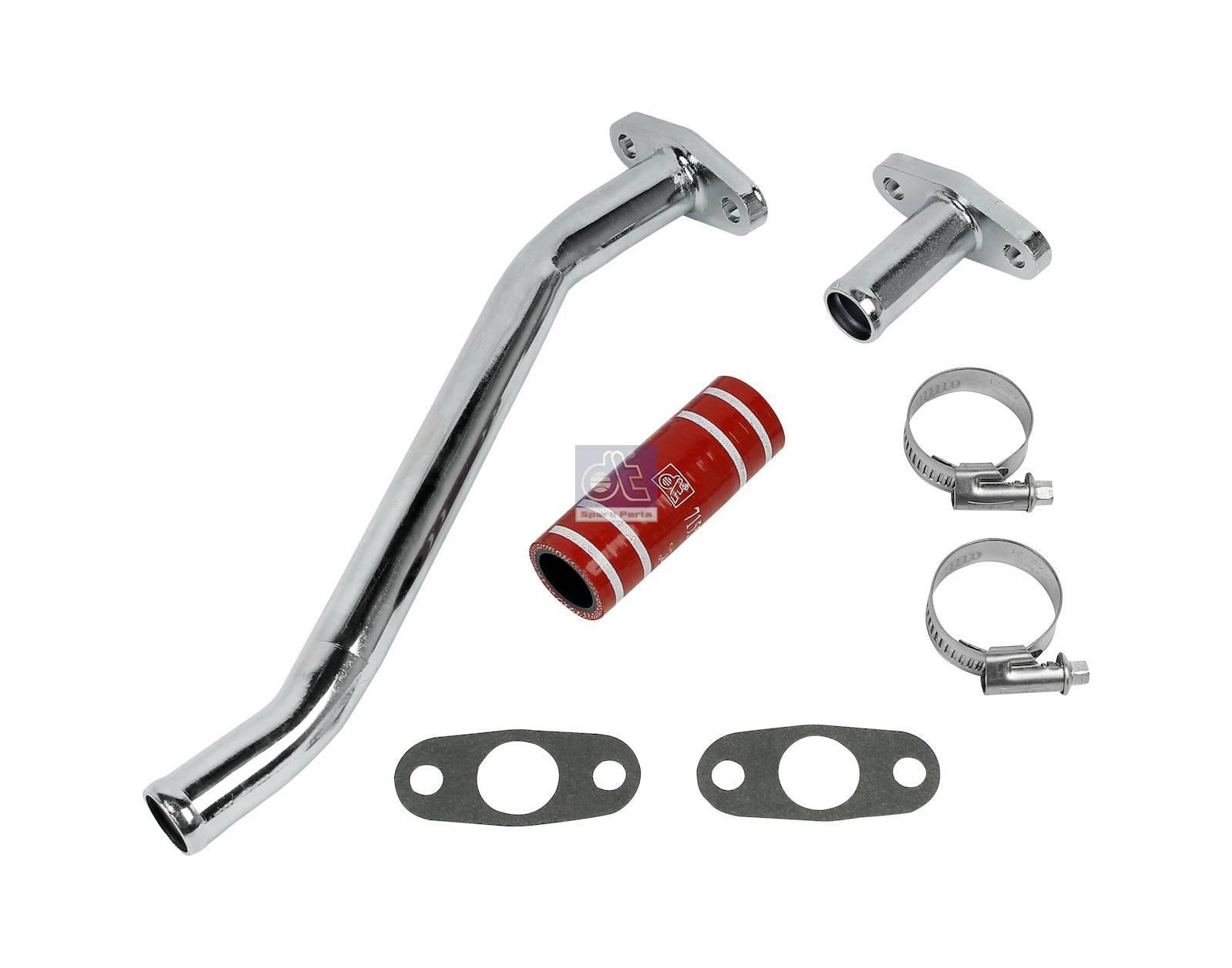 Jogo de tubos, lubrificação do turbo