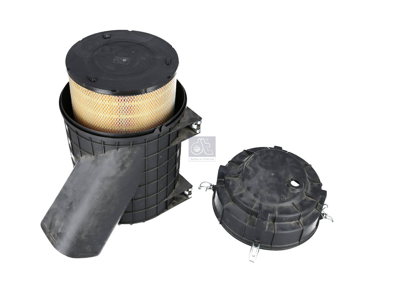 Air filter, complete