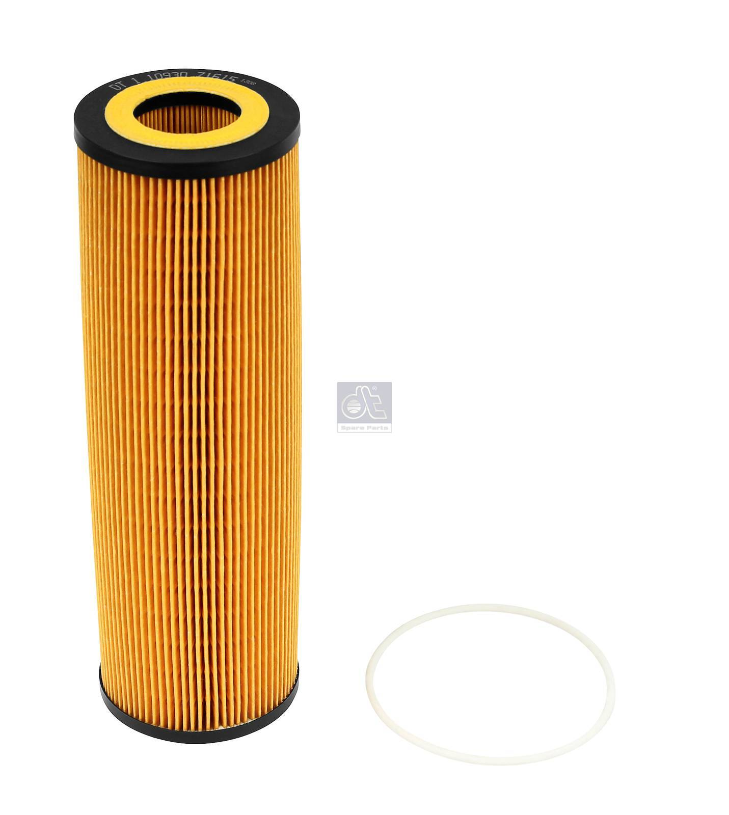 Filter insert, oil cleaner
