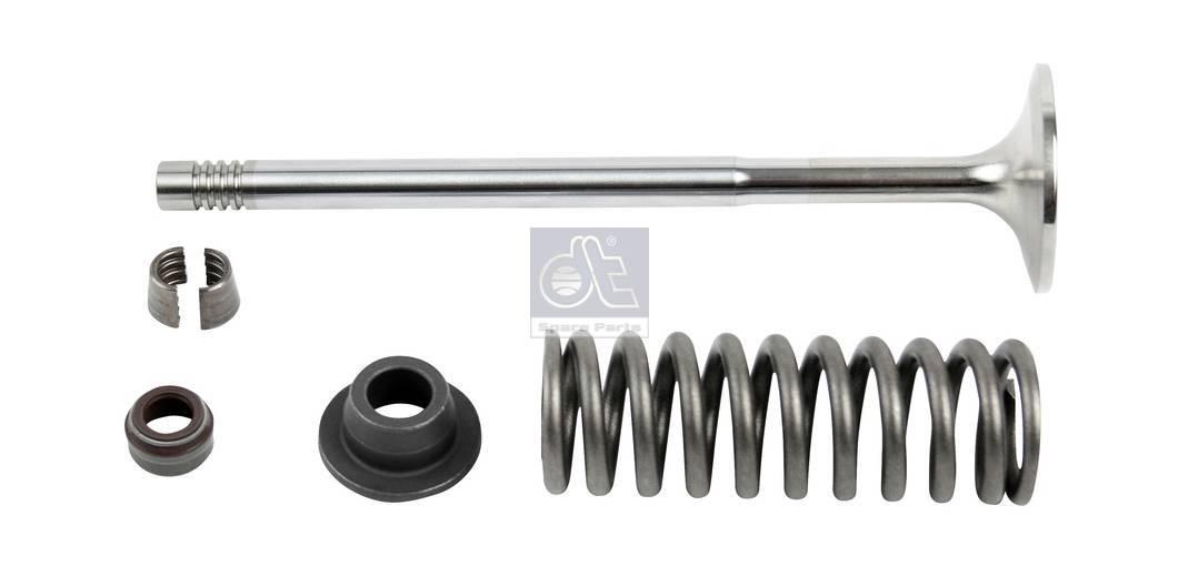 Intake valve, complete