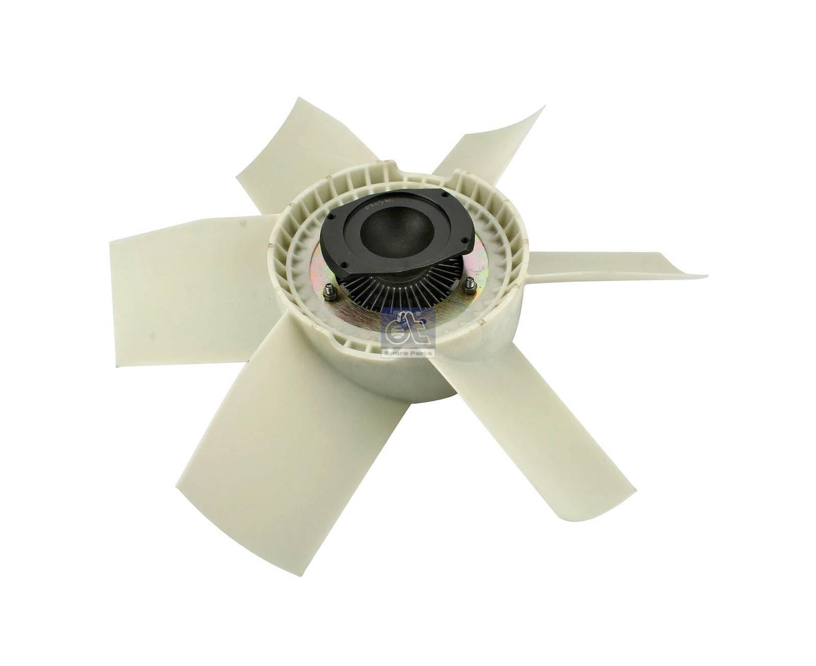 Ventilatore con giunto, versione in plastico