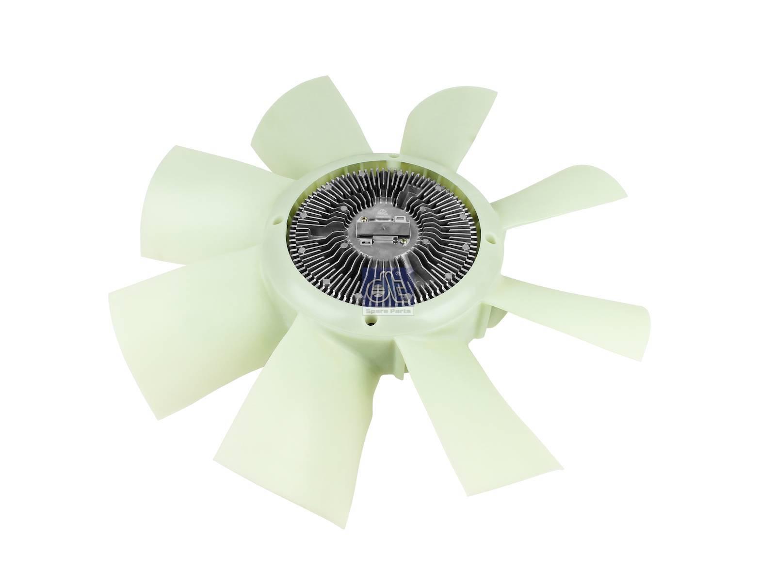 Вентилятор с вискомуфтой