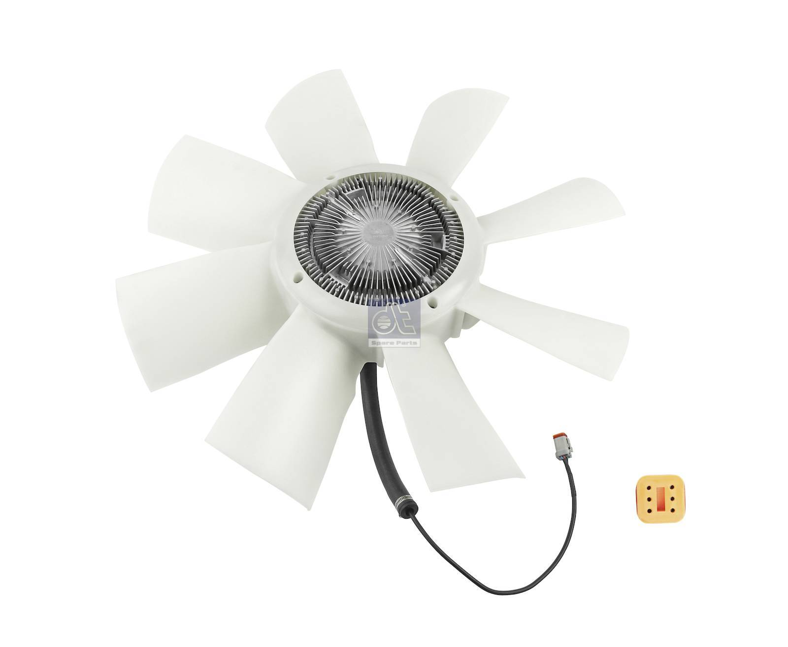 Fan with clutch