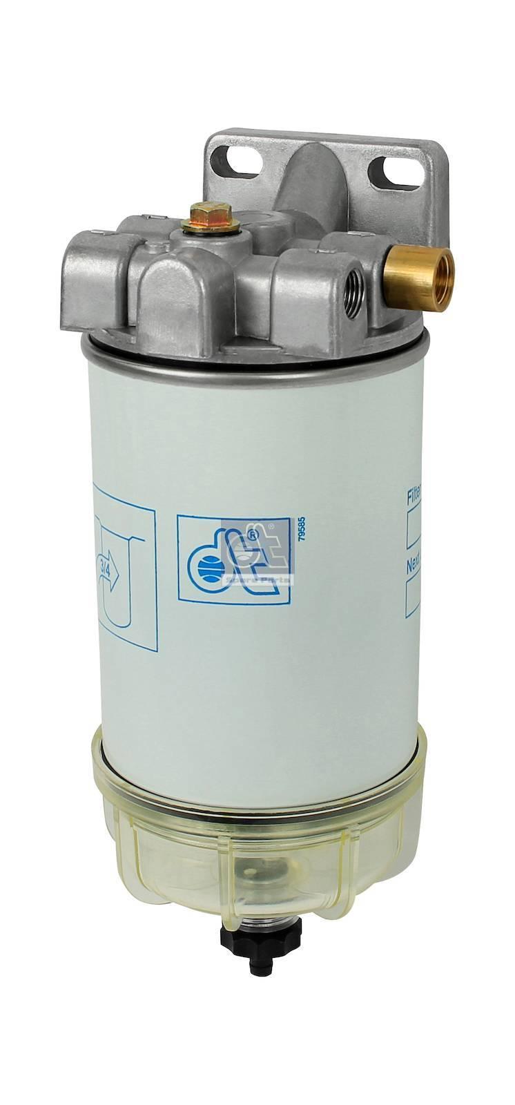 Fuel filter, complete
