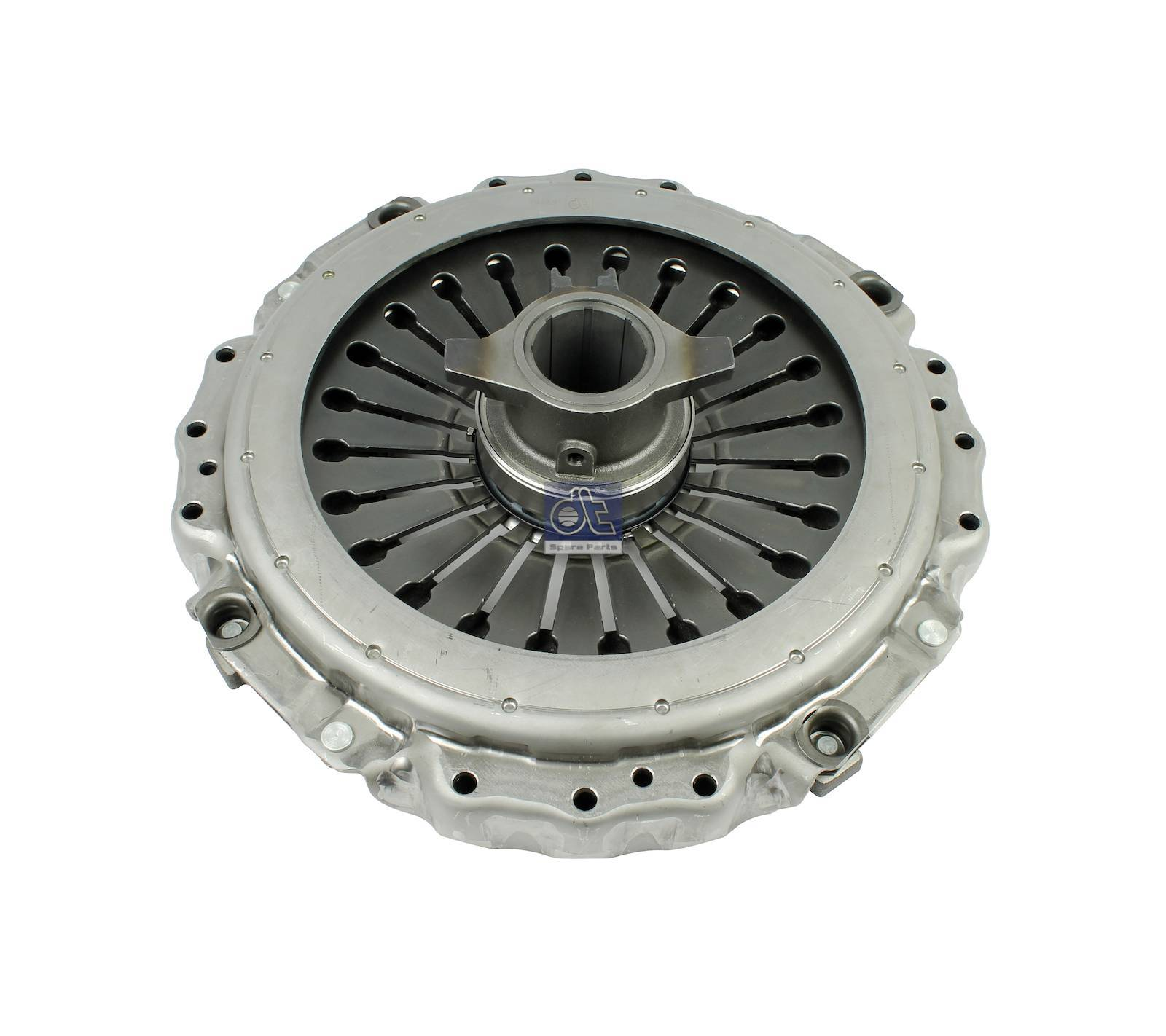 Clutch cover, with release bearing