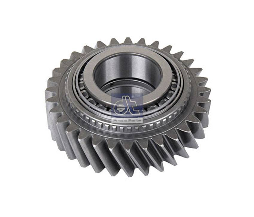 Gear, with bearing