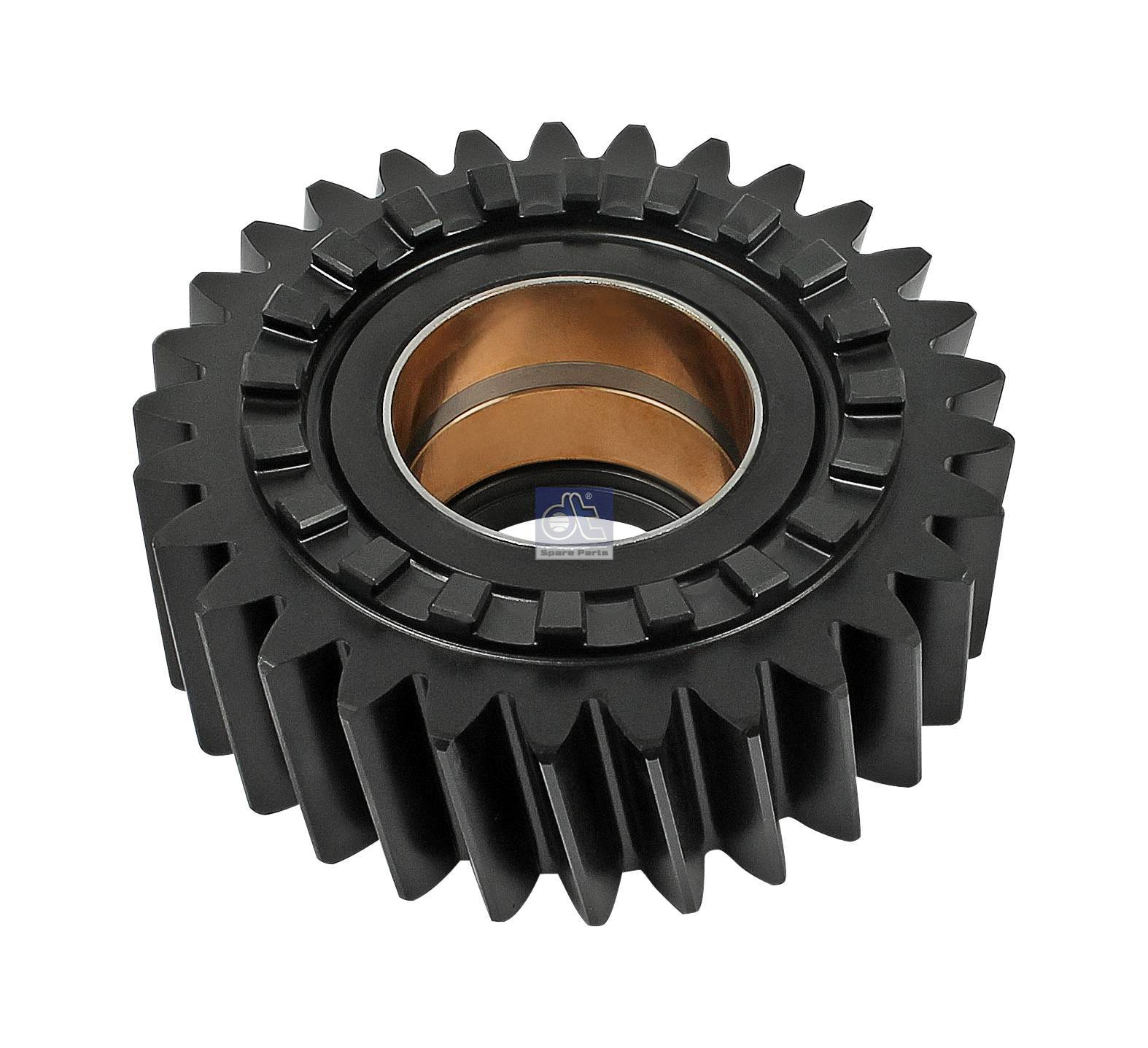 Axle shaft gear, with bushing