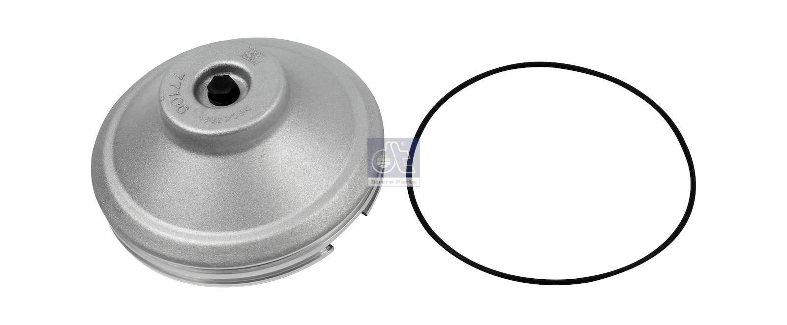 Крышка ступицы, в сборе с уплотнительным кольцом круглого сечения