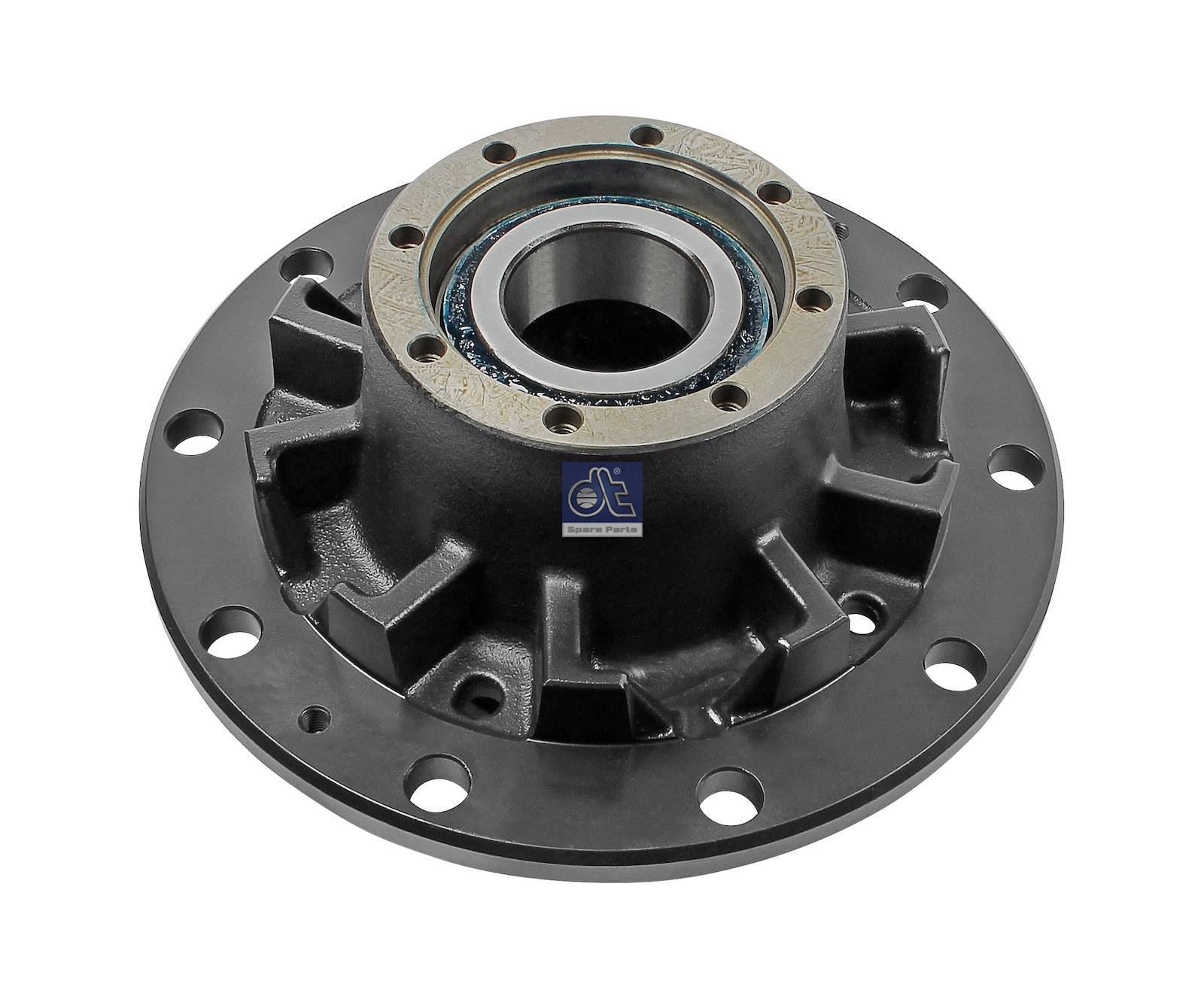 Wheel hub, with bearing