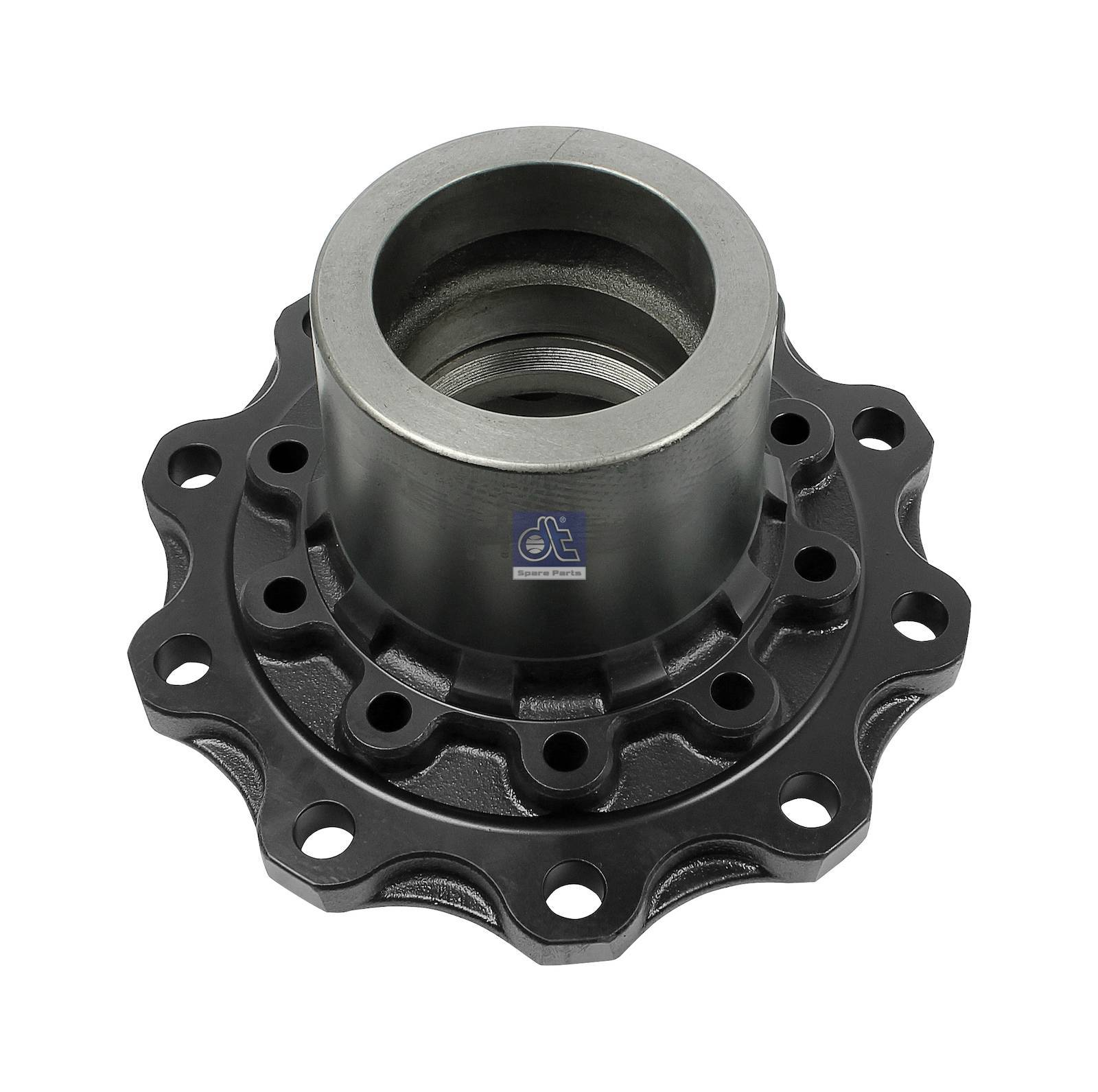 Wheel hub, without bearings