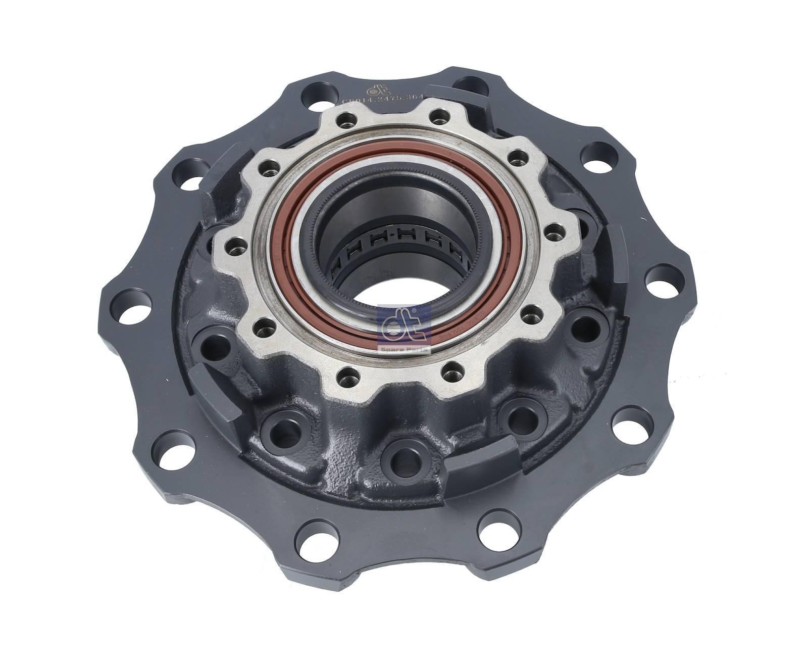 Wheel hub, with bearing