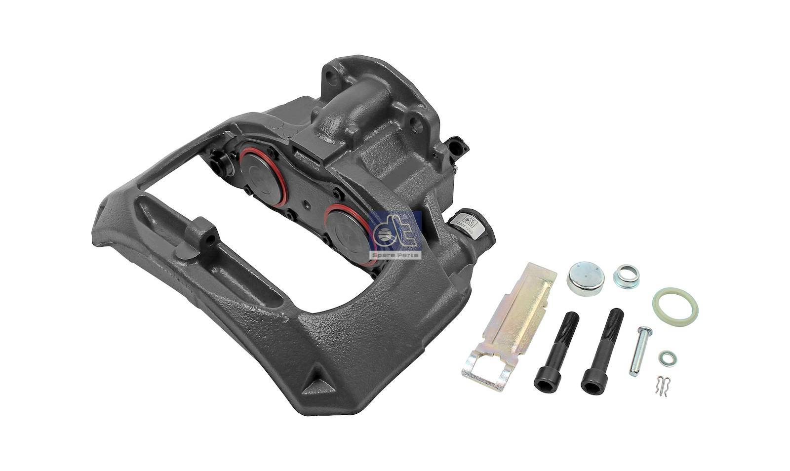 Brake caliper, remanufactured / without old core