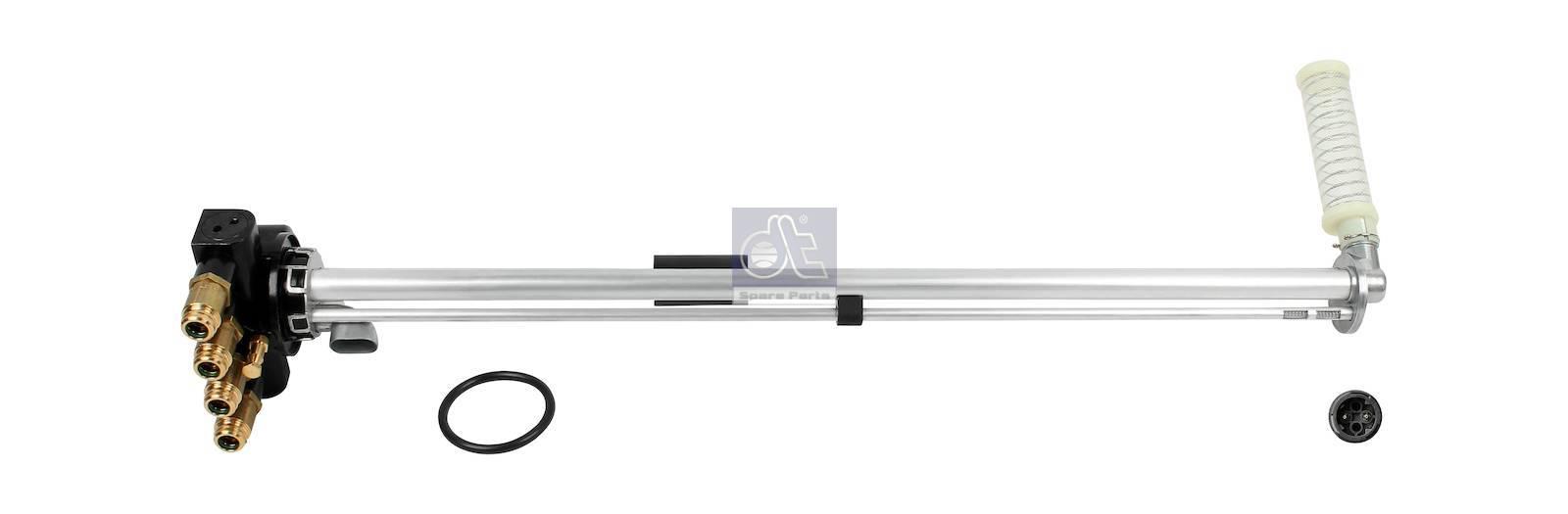 Fuel level sensor, aluminium tank