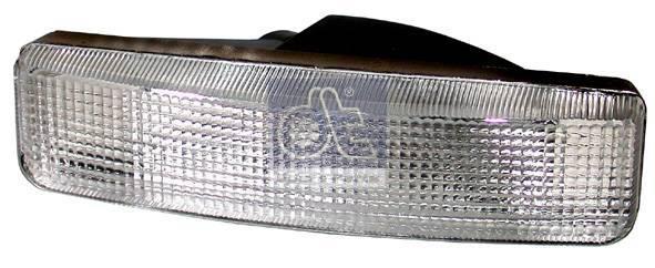 Маркировочный фонарь, бел., без патрона лампы