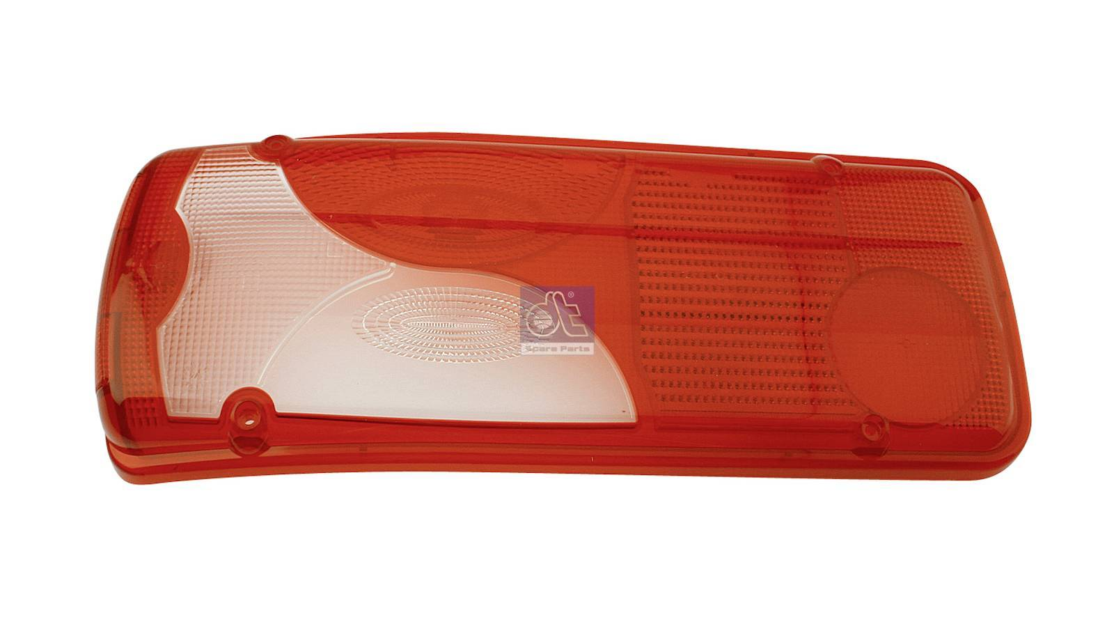 Tail lamp glass, left