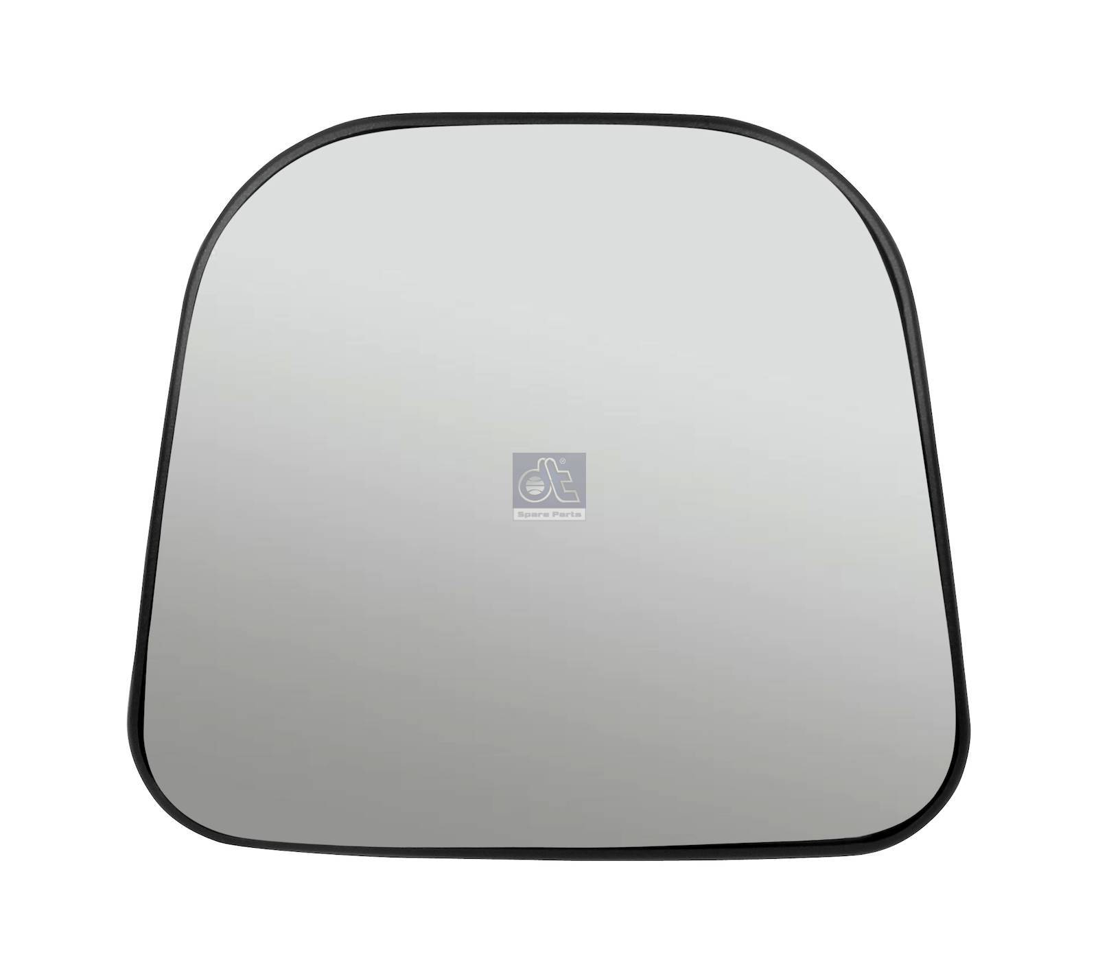 Mirror glass, wide view mirror, heated