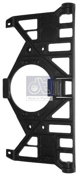Mounting plate, left