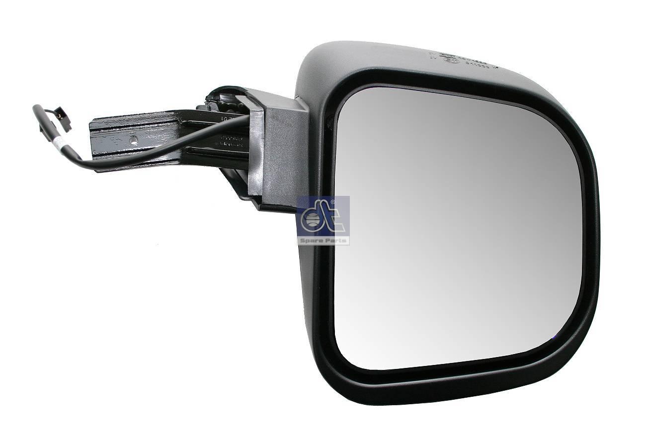 Espelho de ângulo alargado, direito, aquecido