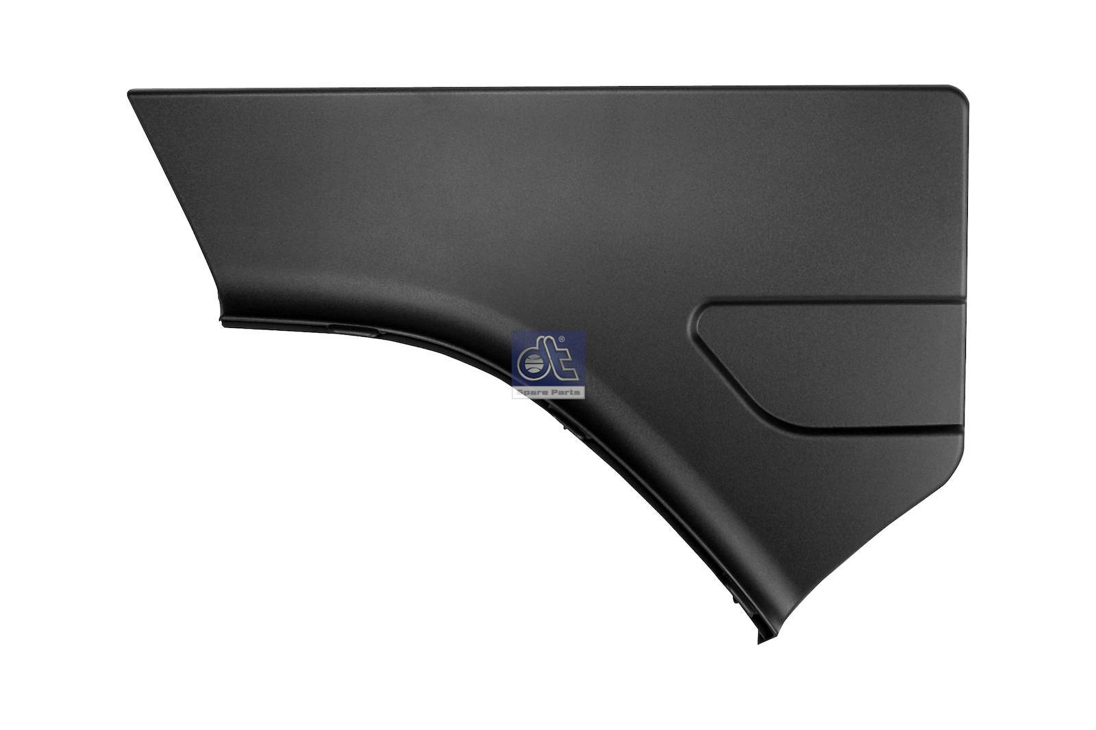 Fender cover, rear, left