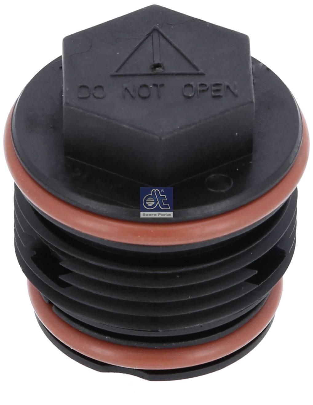 Válvula reguladora de presión, depósito de compensación