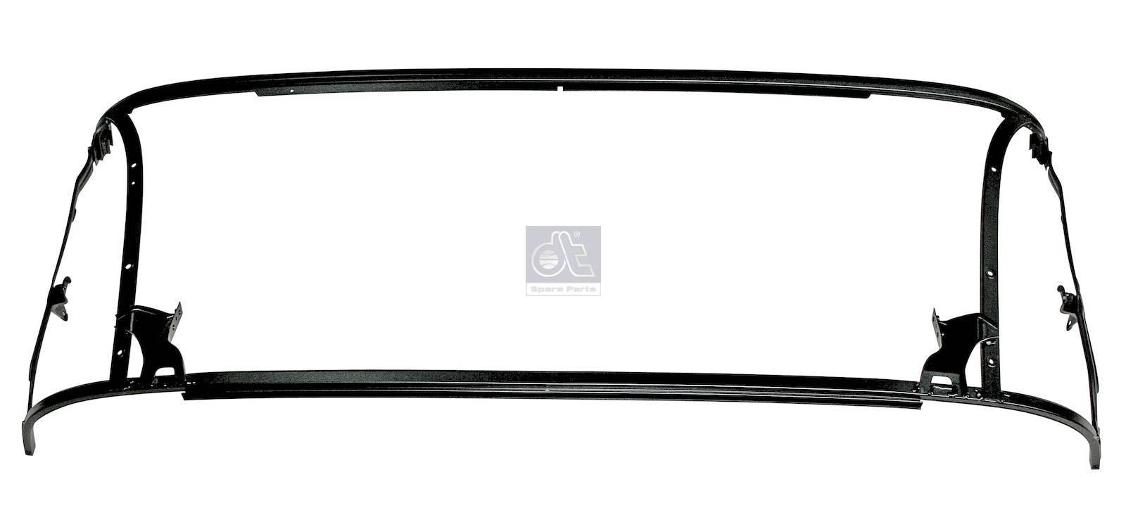 Frame, front flap