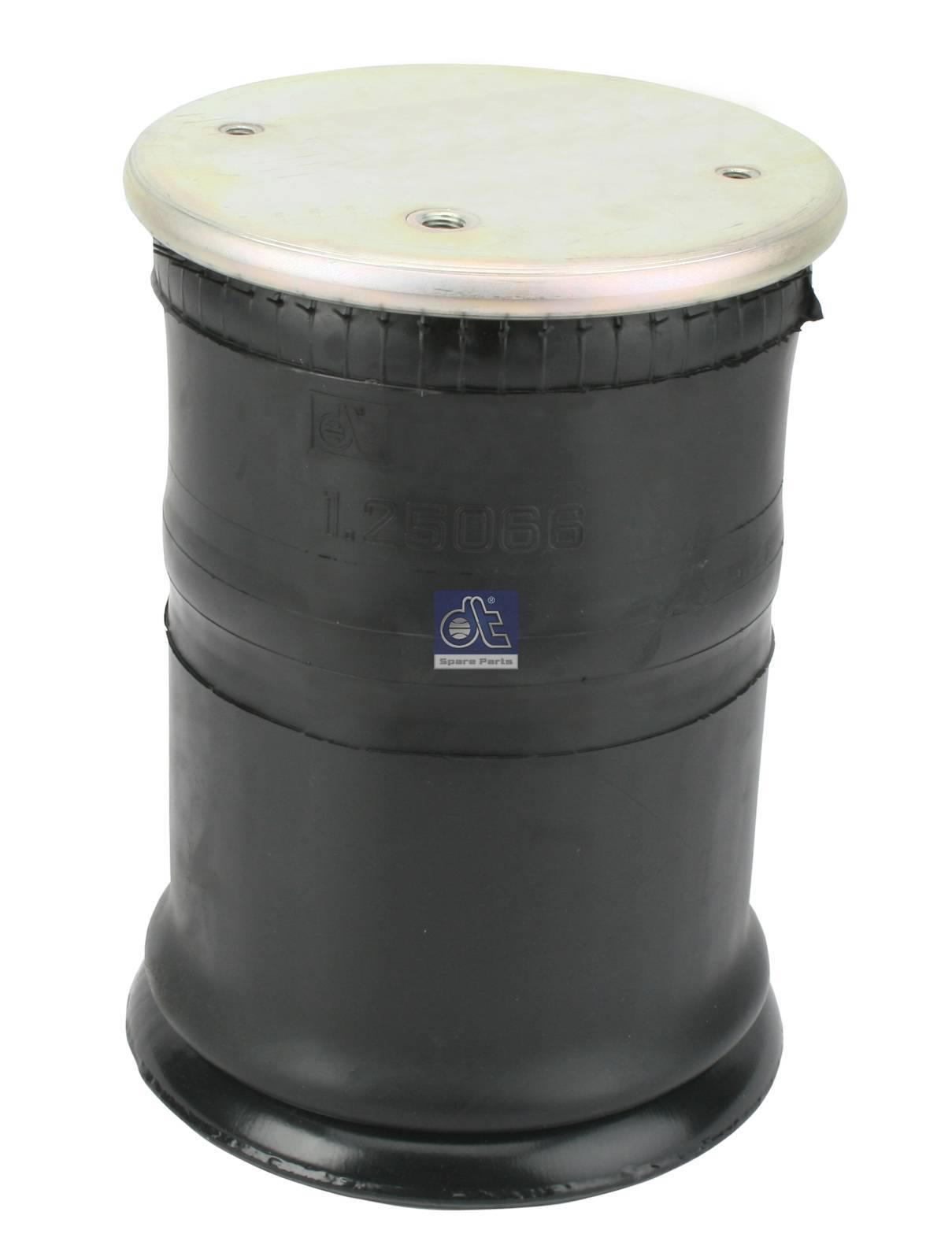 Mola de suspensão pneumática, com pistão de aço