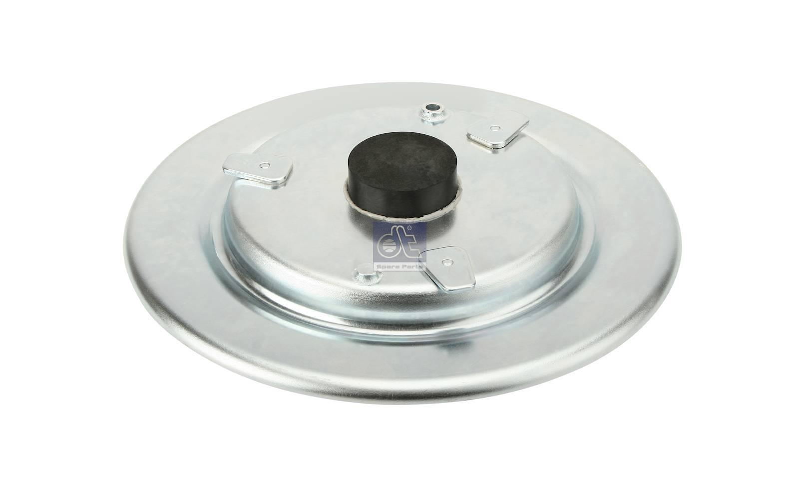 Placa base, mola de suspensão pneumática