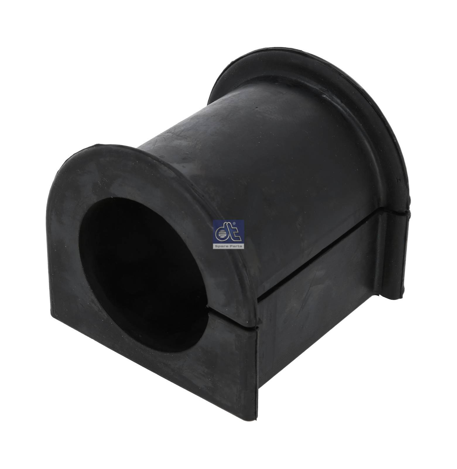 Rubber bushing, stabilizer