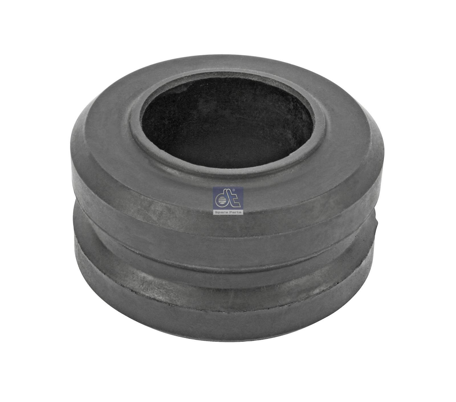 Rubber bushing, radiator