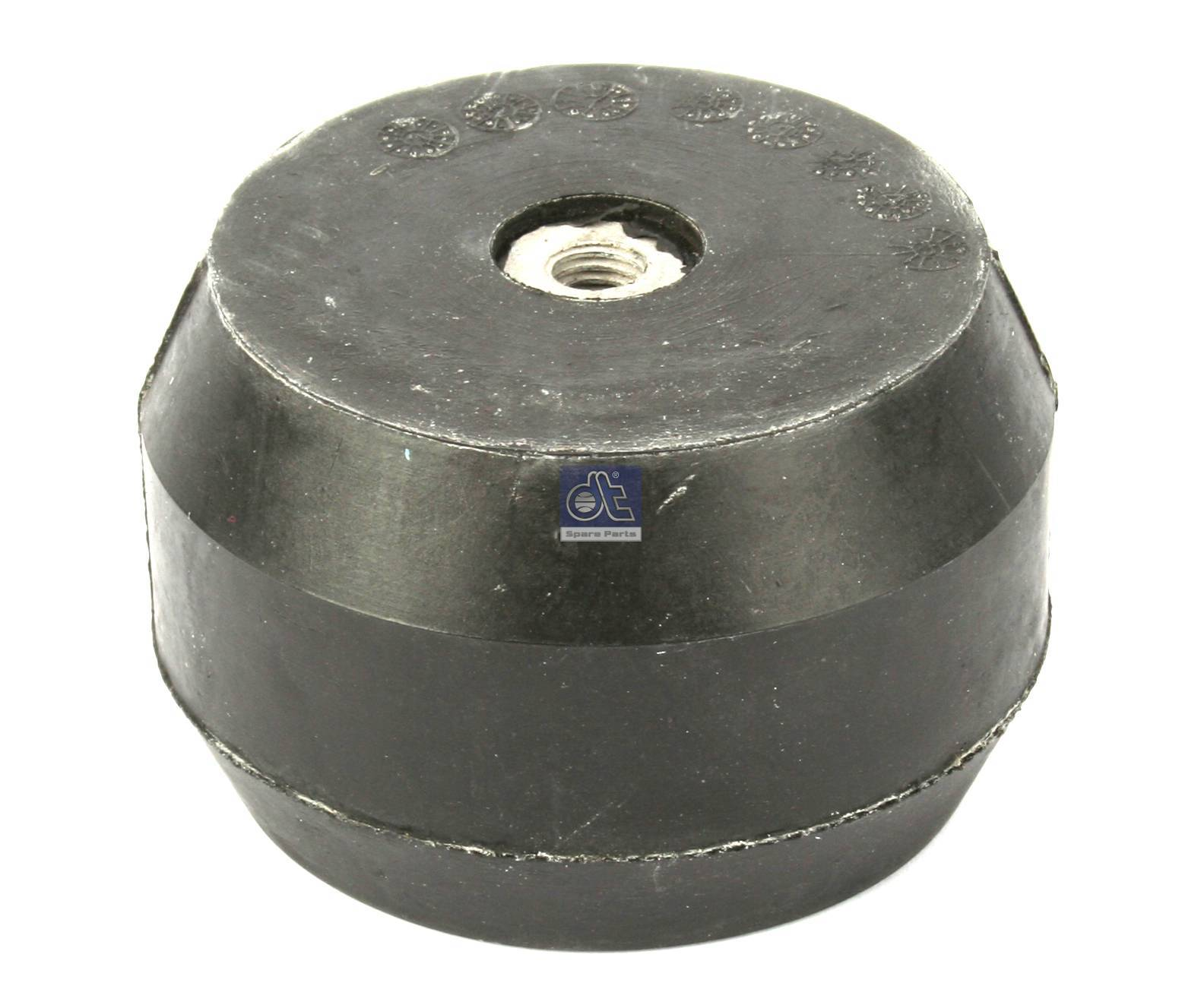 Rubber buffer, front