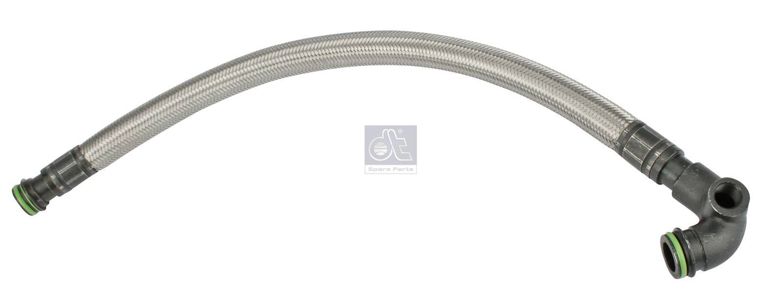 Tube flexible, retarder