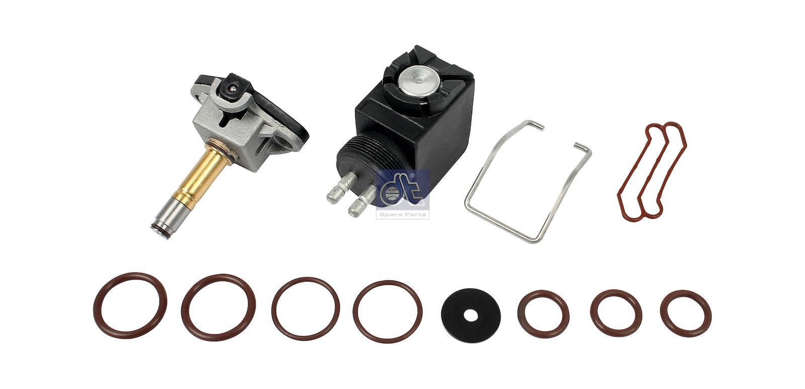 Repair kit, solenoid valve