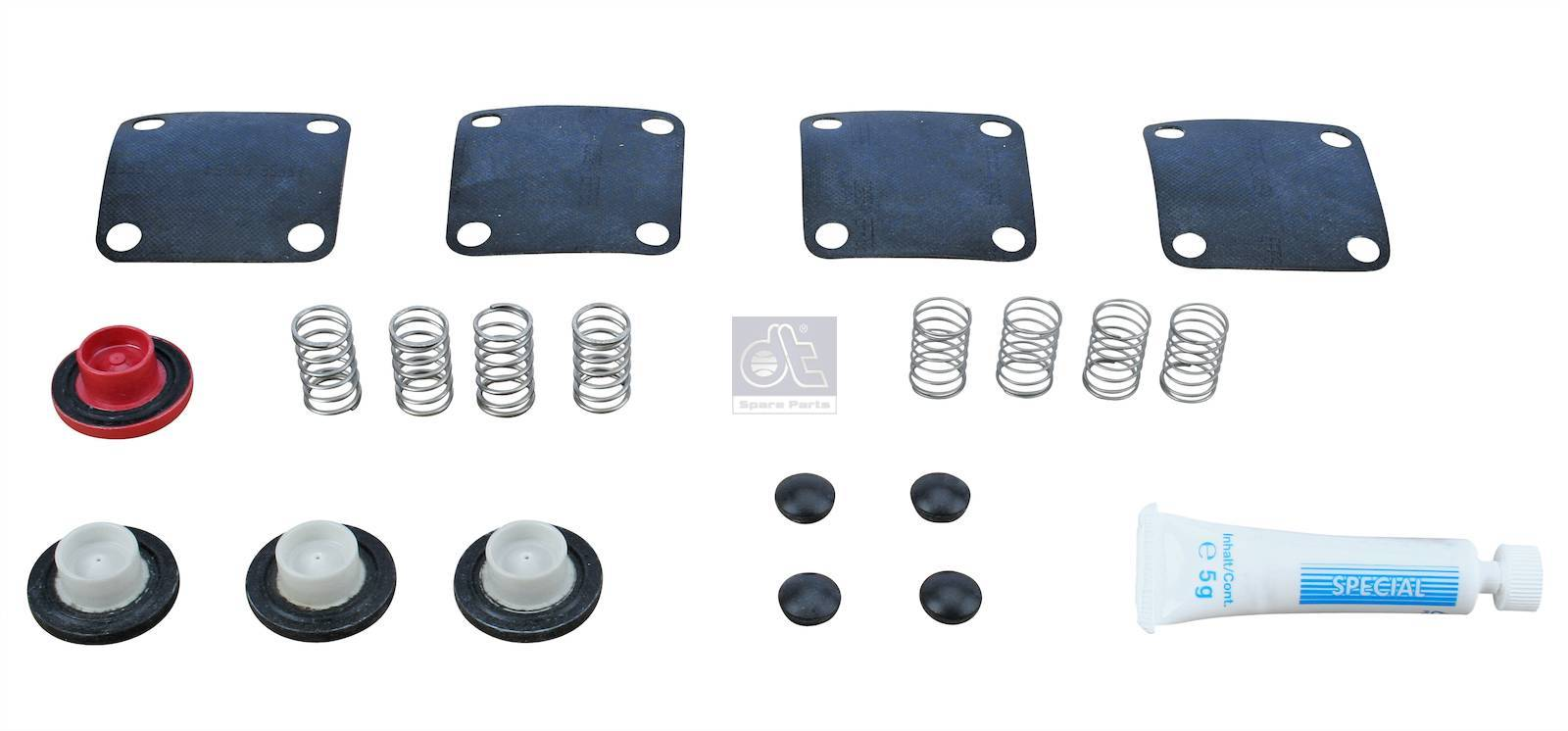 Repair kit, 4-circuit-protection valve