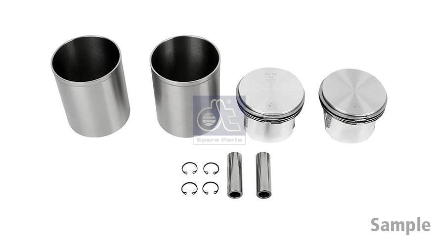 Piston and liner kit, compressor