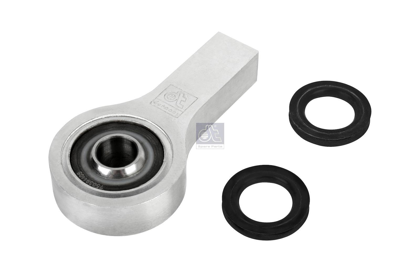 Bearing joint, complete with seal rings