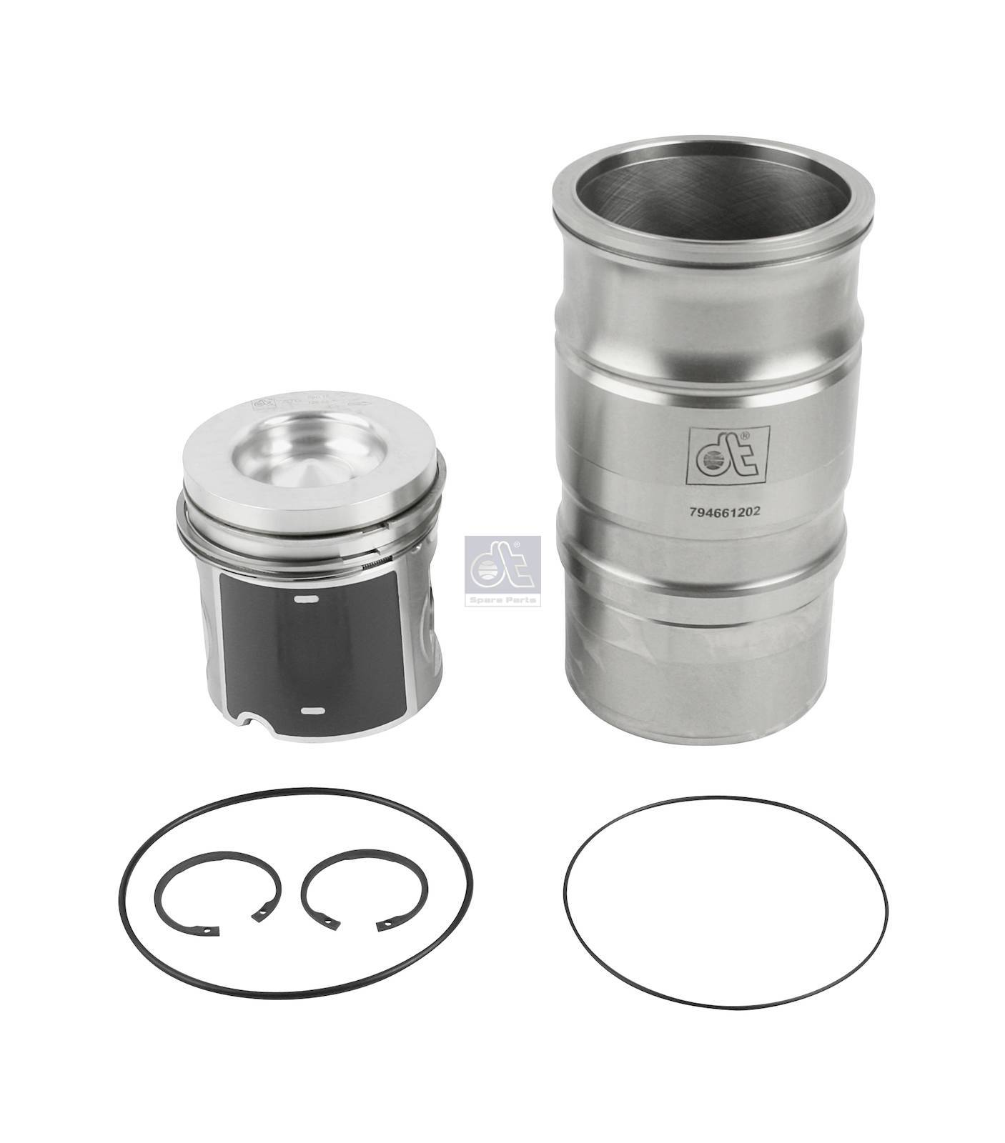 Kit canna cilindro