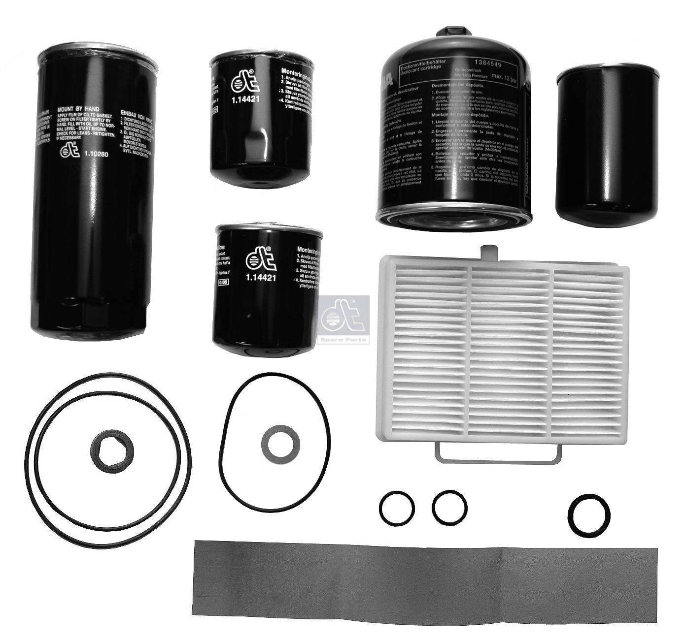 Service kit, filter - L