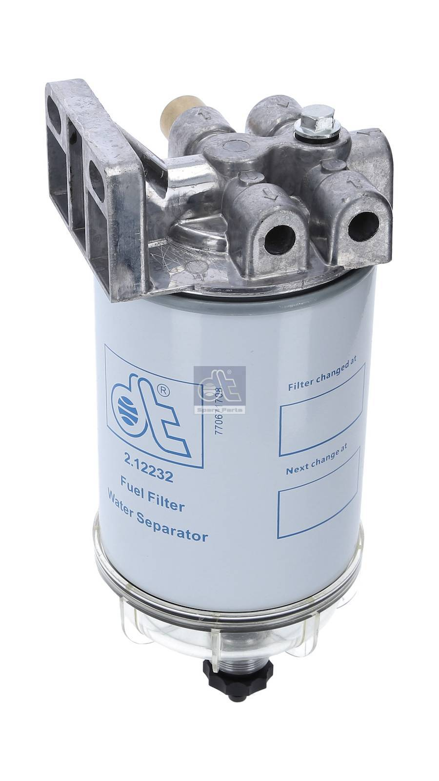 Fuel filter, complete
