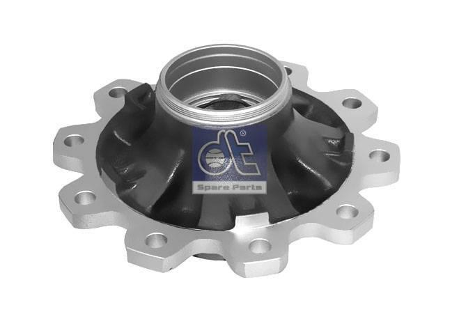 Wheel hub, without bearings