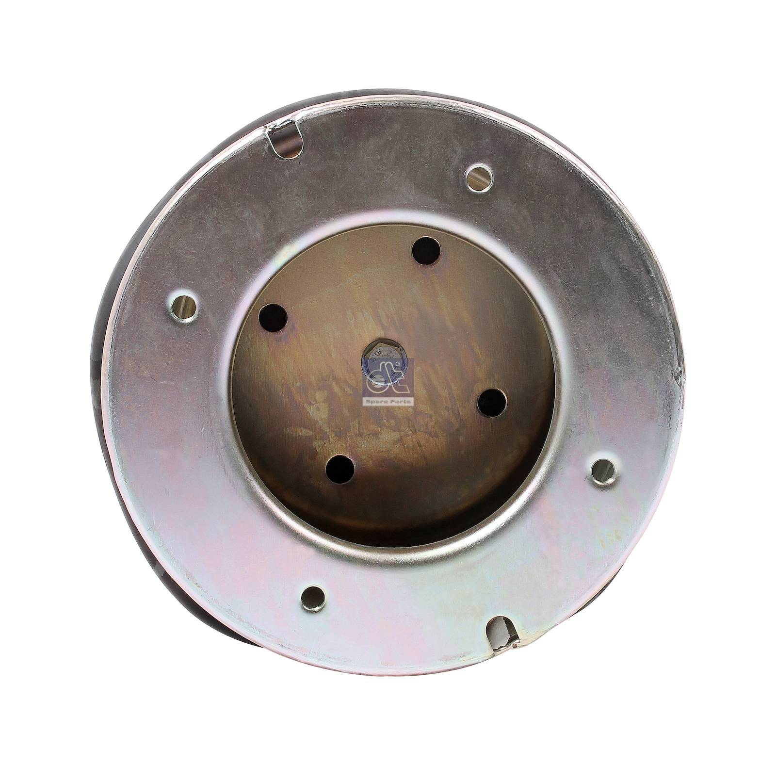 Air spring, with steel piston