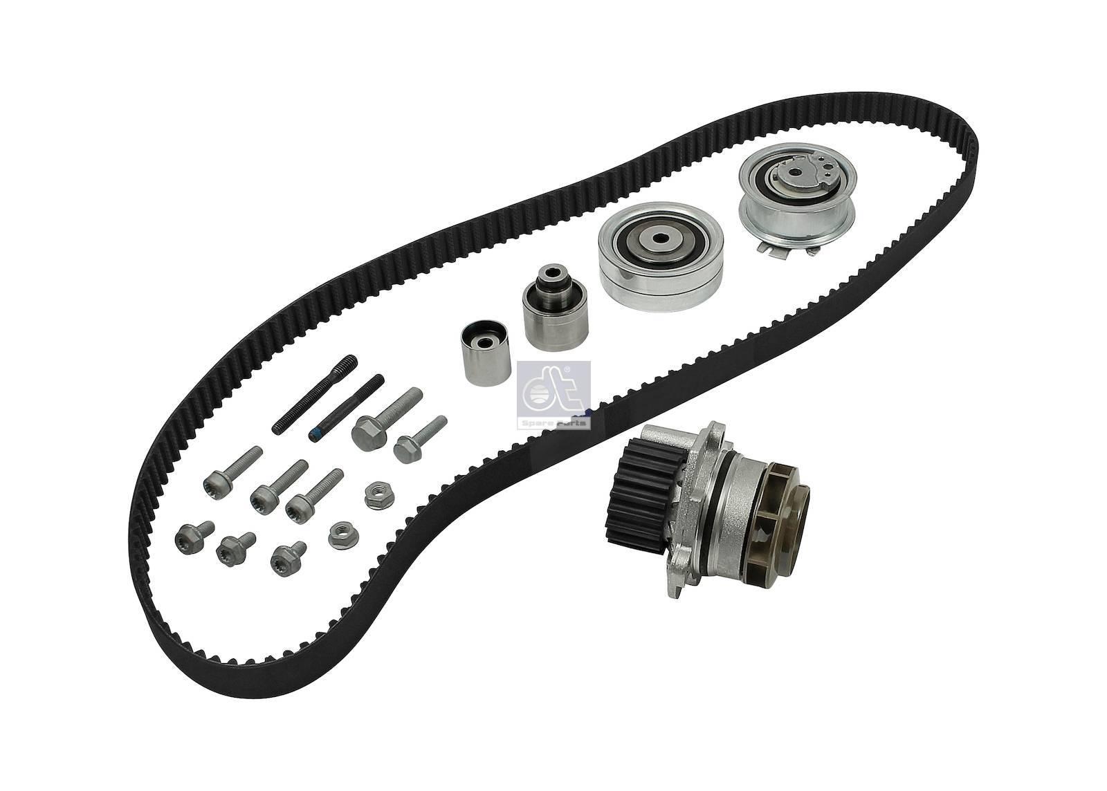 Dt 1190208 Timing Belt Kit With Water Pump 03l109119es2 Suitable