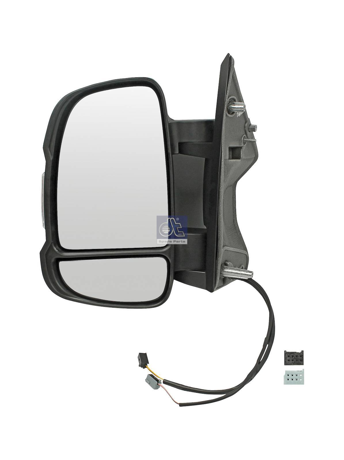 Specchio principale, sin., con sensore di temperatura