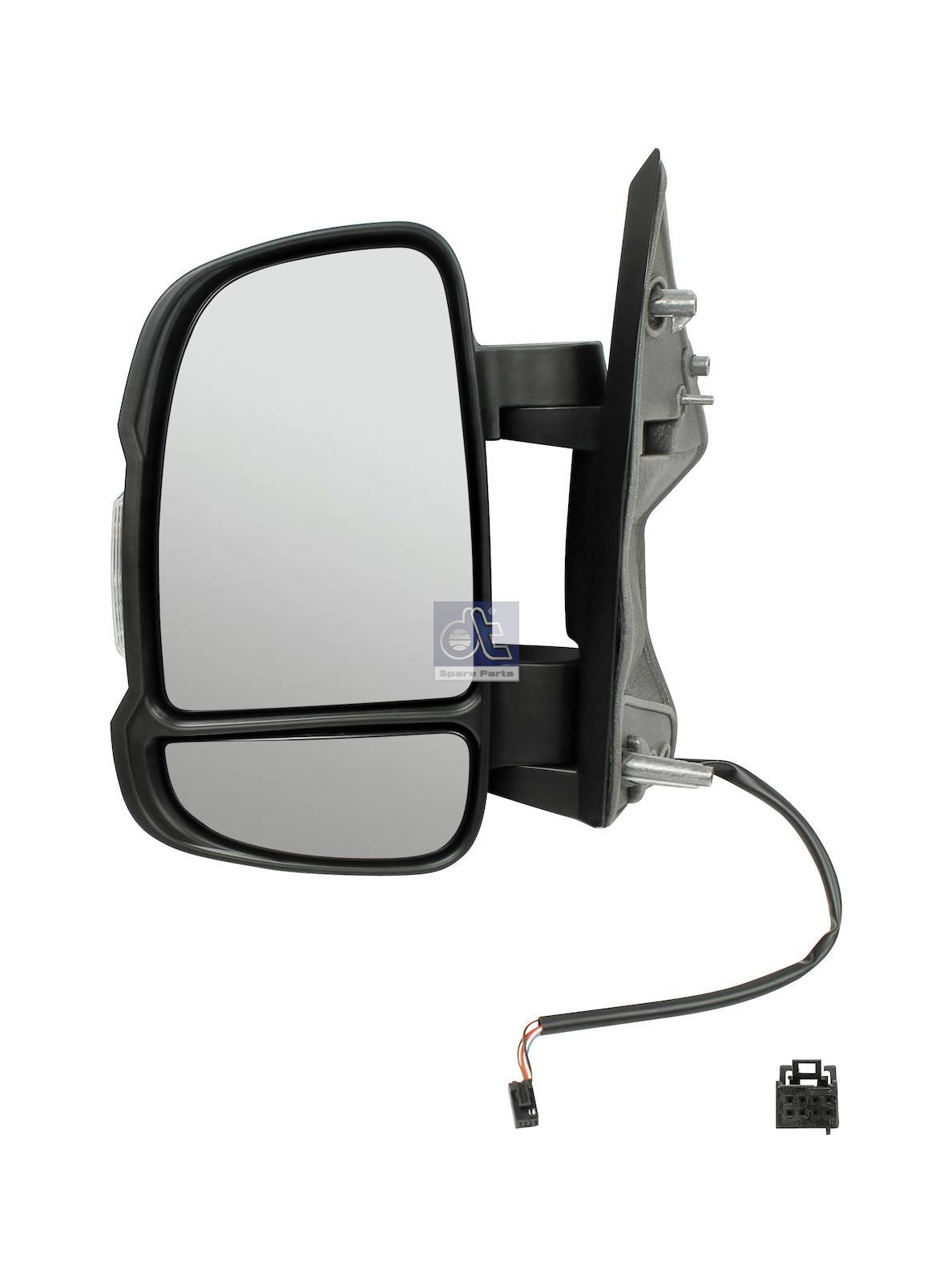 Main mirror, left, heated, electrical