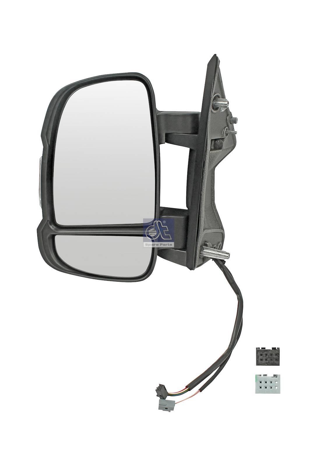 Specchio principale, sin., riscaldato, elettrico, con sensore di temper