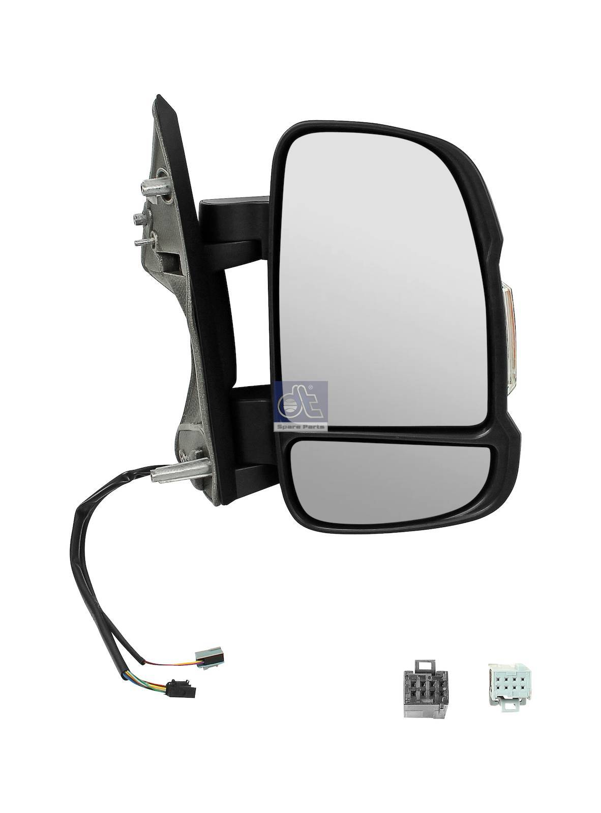 Main mirror, right, heated, electrical