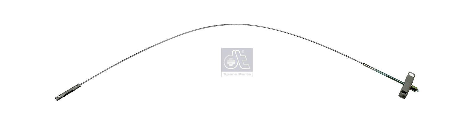 DT 13 33021 Control wire, parking brake suitable for Fiat, Ford