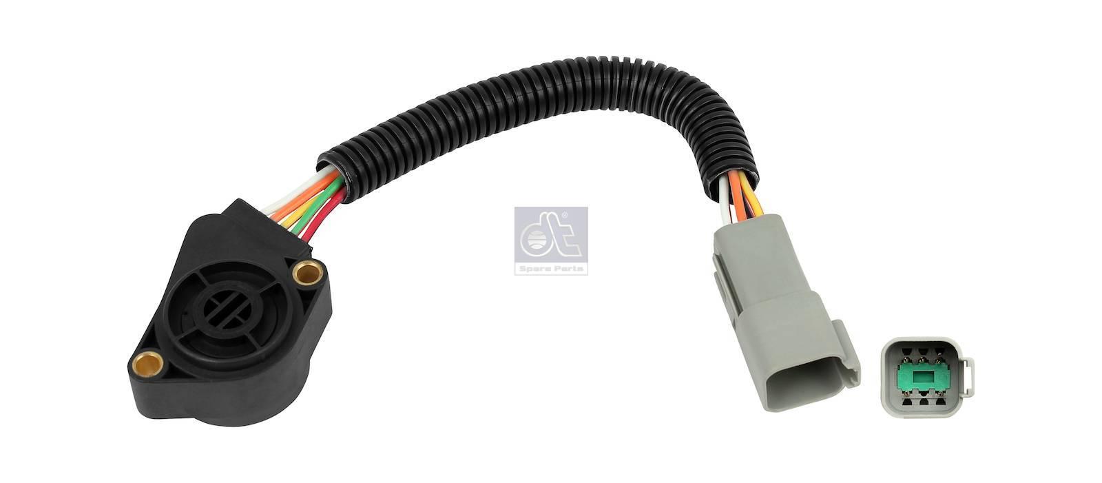 Capteur, pédale d'accélérateur, connecteur gris