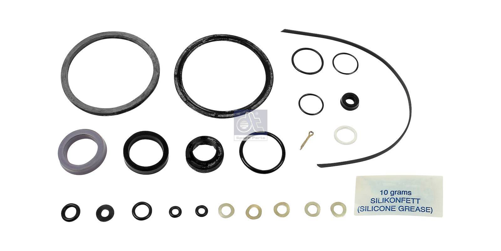 Reparatursatz, Kupplungsservo, mit schwarzem O-Ring (NBR)